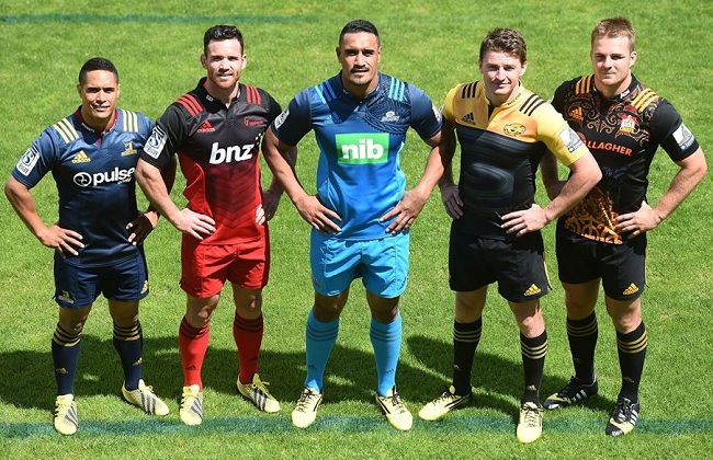 Where are the Super Rugby Teams From